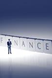 Hombre de negocios Finance A Foto de archivo libre de regalías
