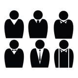 Hombre de negocios Flat Icons ilustración del vector