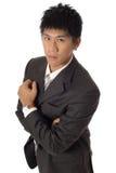 Hombre de negocios fuerte Foto de archivo libre de regalías