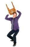 Hombre de negocios furioso Imagen de archivo libre de regalías