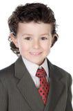 Hombre de negocios futuro adorable Imagenes de archivo