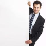Hombre de negocios hermoso Imágenes de archivo libres de regalías