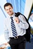 Hombre de negocios hermoso Foto de archivo libre de regalías