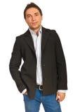 Hombre de negocios hermoso Imagen de archivo libre de regalías