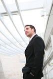 Hombre de negocios hermoso en la oficina Fotografía de archivo libre de regalías