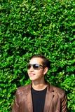 Hombre de negocios hermoso encantador del retrato Individuo hermoso atractivo foto de archivo libre de regalías