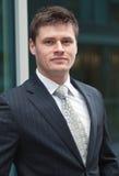 Hombre de negocios hermoso joven Imagenes de archivo