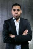Hombre de negocios hispánico Imagen de archivo libre de regalías