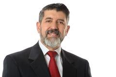 Hombre de negocios hispánico With Beard Imágenes de archivo libres de regalías