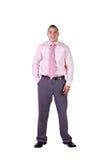 Hombre de negocios hispánico hermoso Foto de archivo libre de regalías