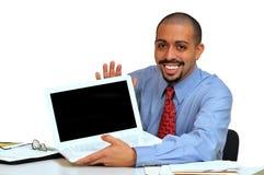 Hombre de negocios hispánico joven Imágenes de archivo libres de regalías