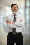 Hombre de negocios hispánico maduro Imagenes de archivo