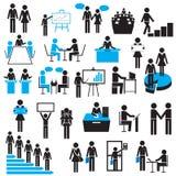 Hombre de negocios Icon Fotos de archivo libres de regalías