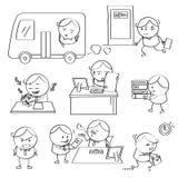 Hombre de negocios Illustrations Imágenes de archivo libres de regalías