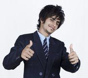 Hombre de negocios indio joven foto de archivo