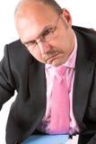 Hombre de negocios infeliz Imagenes de archivo