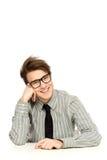Hombre de negocios joven Imagen de archivo libre de regalías