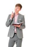 Hombre de negocios joven Imágenes de archivo libres de regalías