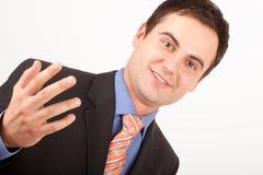 Hombre de negocios joven Imagenes de archivo