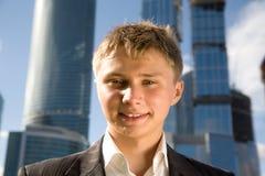 Hombre de negocios joven fotos de archivo libres de regalías