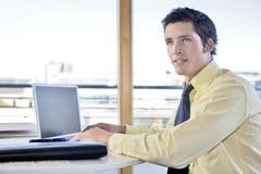 Hombre de negocios joven Foto de archivo libre de regalías