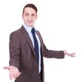 Hombre de negocios joven accesible Imagenes de archivo