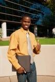 Hombre de negocios joven acertado Fotos de archivo libres de regalías