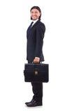 Hombre de negocios joven aislado Imágenes de archivo libres de regalías
