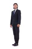 Hombre de negocios joven aislado Foto de archivo libre de regalías