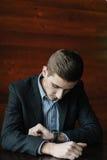 Hombre de negocios joven creativo imágenes de archivo libres de regalías