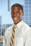 Hombre de negocios joven Inside Office imagenes de archivo