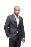 Hombre de negocios negro Imagenes de archivo