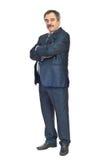 Hombre de negocios maduros elegante Imagen de archivo libre de regalías