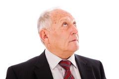 Hombre de negocios mayor Fotos de archivo