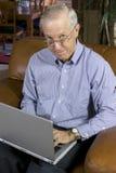 Hombre de negocios mayor fotos de archivo libres de regalías