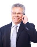 Hombre de negocios mayor Imágenes de archivo libres de regalías