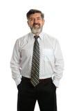Hombre de negocios mayor hispánico Foto de archivo libre de regalías