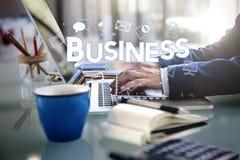 Hombre de negocios Money Growth Concept del negocio Imagen de archivo libre de regalías