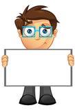 Hombre de negocios - muestra en blanco 12 Fotos de archivo