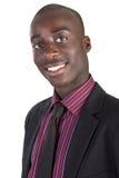 Hombre de negocios negro joven Fotografía de archivo
