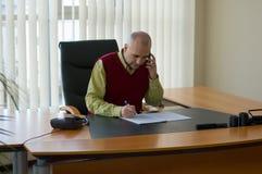 Hombre de negocios ocasional Fotos de archivo
