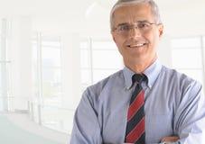 Hombre de negocios Office Portrait Imagenes de archivo
