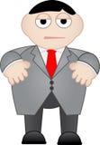 Hombre de negocios opaco e infeliz Imágenes de archivo libres de regalías