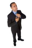Hombre de negocios orgulloso imágenes de archivo libres de regalías