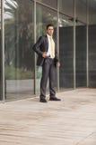 Hombre de negocios Outdoor Fotografía de archivo