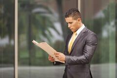 Hombre de negocios Outdoor Fotos de archivo