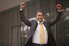 Hombre de negocios Outdoor Imagen de archivo libre de regalías