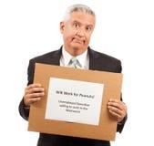 Hombre de negocios parado imagen de archivo libre de regalías
