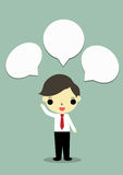 Hombre de negocios pensativo Foto de archivo