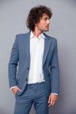 Hombre de negocios pensativo Looking Away Imagen de archivo